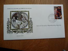 (S) Aitutaki FDC 3-4-1980 EASTER Stamp - Aitutaki