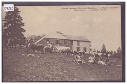 DISTRICT DE GRANDSON - VACHES AU CHALET DU MONT DE BAULMES - TB - VD Vaud