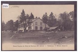 DISTRICT DE GRANDSON - CHALET DU MONT DE BAULMES - B ( TIMBRE ARRACHE AU DOS AVEC PETIT AMINCI ) - VD Vaud