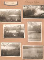 Abee Etangs à Tilesse  6x Foto 6x Photo - Tinlot