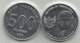 Indonesia 500  Rupiah 2016. UNC - Indonésie