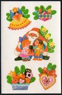 B1985 - Abziehbild Schiebebild - Weihnachtsmann  DDR - Planet Verlag - Weihnachten - Sin Clasificación