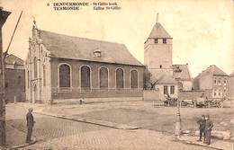 Dendermonde - St Gillis Kerk (voor 1914, Animatie, Saia) - Dendermonde