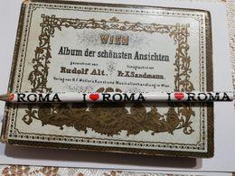 2772) Austria Wien Vienna Leporello 36+1 Stampe Litografia RUDOLF ALT SANDMANN - Vienna