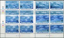 Bermuda 2004. Michel #877/80 MNH/Luxe. WWF. Bluefin Tuna. (Ts02) - W.W.F.