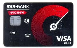 Russia VOID VUZ Bank Maximum - Geldkarten (Ablauf Min. 10 Jahre)