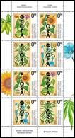 Bosnia - Republic Of Srpska, 2017, Flora, Mini Sheet, MNH, Mi# 732/35 - Bosnie-Herzegovine