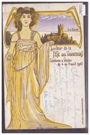 DISTRICT DE VEVEY - VEVEY - FETE DES VIGNERONS 1905 - B ( PETIT PLI D'ANGLE ) - VD Vaud
