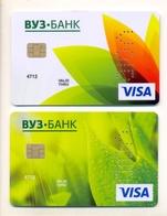 Russia VOID VUZ Bank Flora - Geldkarten (Ablauf Min. 10 Jahre)