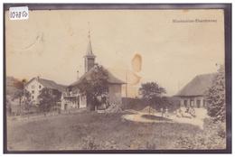 DISTRICT DE MOUDON - MONTAUBION CHARDONNAY - B ( LEGER PLI A DROITE ) - VD Vaud