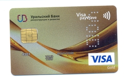 Russia VOID UBRD Bank Gold - Cartes De Crédit (expiration Min. 10 Ans)