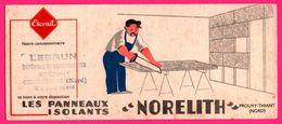 BUVARD Illustré - Eternit - Panneaux Isolants NORELITH - Prouvy Thiant - Matériaux MR LEBRUN COUTICHES (59) - Autres