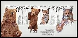 Bosnia - Republic Of Srpska, 2017, Endangered Animal Species, Souvenir Sheet, MNH, Mi# - Bosnie-Herzegovine