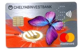 Russia VOID Chelyabinvestbank Papillon - Cartes De Crédit (expiration Min. 10 Ans)
