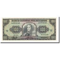 Billet, Équateur, 100 Sucres, 1986-04-29, KM:123, NEUF - Equateur