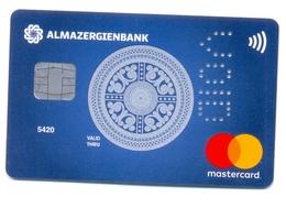 Russia VOID Almazergienbank Motifs Yakoutes - Cartes De Crédit (expiration Min. 10 Ans)