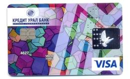 Russia VOID CreditUralBank Cubes - Cartes De Crédit (expiration Min. 10 Ans)