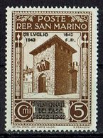 San Marino 1943 // Mi. 271 ** (031..744) - San Marino