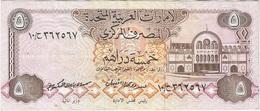 Emiratos Árabes Unidos - United Arab Emirates 5 Dirhams 1982 Pick 7a Ref 3 - Emirati Arabi Uniti