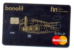 Russia VOID Bank Finservice Gold équipement - Geldkarten (Ablauf Min. 10 Jahre)