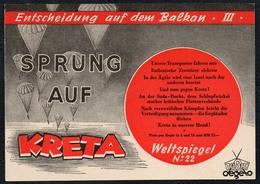 C0184 - Tobis Degeto Weltspiegel - Werbekarte Werbung - Kreta - Schmalfilm - Werbepostkarten