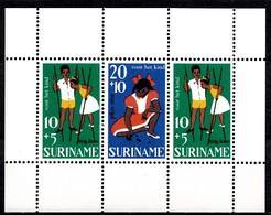 Surinam 1967 Mi.nr.:Block 7  Für Das Kind  Neuf Sans Charniere / MNH / Postfris - Surinam