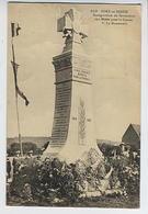 PORT En BESSIN : Inauguration Du Monument Aux Morts Pour La France (écrite Par V & F Dudouet) - Port-en-Bessin-Huppain