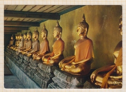 8AK3983 THAILANDE BAGKOK BOUDDHAS AU TEMPLE WAT PO 2 SCANS - Thaïlande