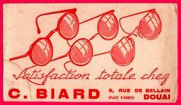 BUVARD - Satisfaction Totale Chez C. BIARD - Opticien - Lunettes - DOUAI (59) - Autres