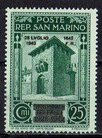San Marino 1943 // Mi. 274 ** (031..748) - San Marino