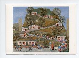 Carte Double: Le Village, La Aldea, Turquie, Par Mehmet Pesen (18-3611) - Turquie