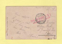 Chiavari - Posto Di Restoro CRI - Stazione Di Chiavari - 16-4-1917 - 1900-44 Victor Emmanuel III
