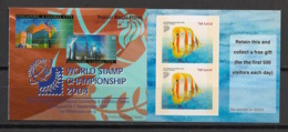 Singapore - 2004 - N°Yv. C1253B(I) - Caernet Adhésif - Poisson / Fish - Neuf Luxe ** / MNH / Postfrisch - Singapour (1959-...)