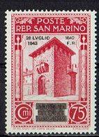 San Marino 1943 // Mi. 277 ** (031..751) - San Marino