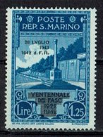San Marino 1943 // Mi. 278 ** (031..752) - San Marino