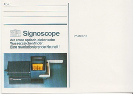 Germany Postcard With SAFE Signoscope - Philately & Coins