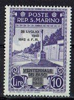 San Marino 1943 // Mi. 282 ** (031..754) - San Marino