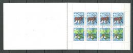 Yougoslavie Carnet YT N°C1655 Nouvel An 1979 Flore Et Faune Oblitéré ° - Carnets