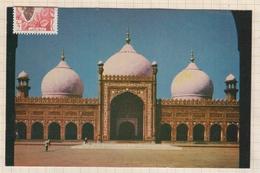 8AK3989 SHAHI MOSQUE LANORE PAKISTAN 2 SCANS - Pakistan