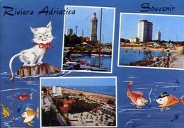 Riviera Adriatica - 19 - Formato  Grande Viaggiata – E 9 - Non Classificati