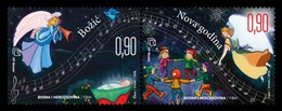 Bosnia And Herzegovina (Croatian) 2018 Mih. 503/04 Christmas And New Year MNH ** - Bosnie-Herzegovine