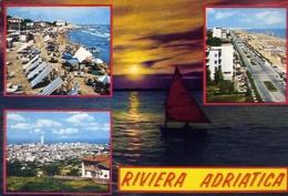 Riviera Adriatica - 51 - Formato  Grande Viaggiata – E 9 - Non Classificati
