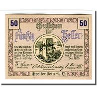 Billet, Autriche, Greifenstein N.Ö. Gemeinde, 50 Heller, Texte 6, 1920 - Autriche