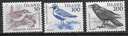 Islande 1981 N° 520/522 Neufs Oiseaux - 1944-... Republique