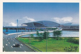 PUDONG INTERNACIONAL AIRPORT. REPUBLIC OF CHINA-ENTERO ENTIER CIRCA 2000s-TBE- BLEUP - 1949 - ... Repubblica Popolare
