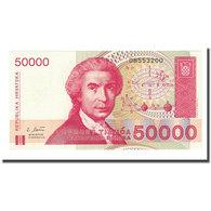 Billet, Croatie, 50,000 Dinara, 1991-10-08, KM:26a, NEUF - Croatie