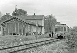 Aix-en-Othe-Villemaur Photo 10 X 15 - Trains