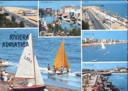 Riviera Adriatica - Cattolica - Rimini - Riccione - Cesenatico - Igea - Formato Grande Viaggiata – E 9 - Non Classificati