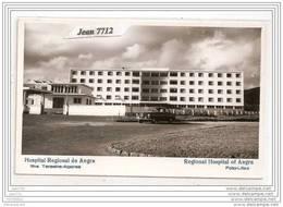 4908 AK/PC/CARTE FOTO/827 HOSPITAL REGIONAL DE ANGRA ACORES IIHA TEROEIRA FOTO LILAZ TTB - Açores