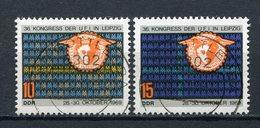 DDR Nr.1515/6         O  Used       (21436) ( Jahr: 1969 ) - Gebraucht